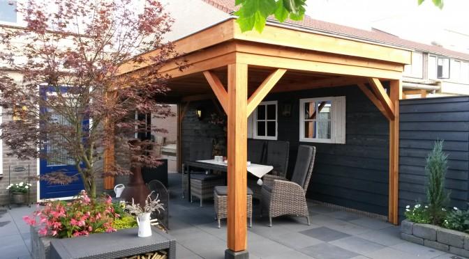 tuinhuis carport